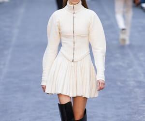 high fashion, runway, and milan fashion week image