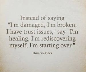 broken, damaged, and healing image