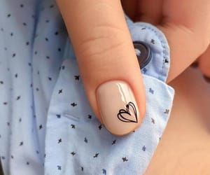 art, nail art, and love image