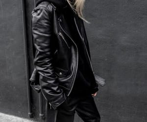 blogger, black look, and fashion image
