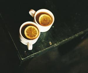 tea, lemon, and cup image