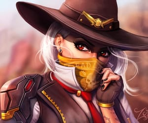 overwatch and ashe image