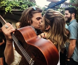 couple, music, and cute image