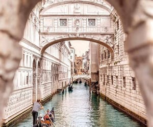 italy, travel, and water image