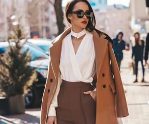 classic, coat, and fashion image