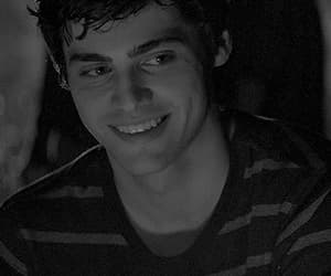 actor, matthew daddario, and black and white image