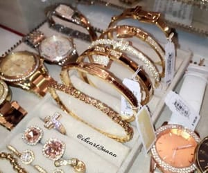 gold, jewelry, and luxury image