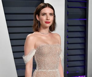 emma roberts, oscars, and Vanity Fair image