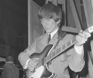 60s, george harrison, and vintage image