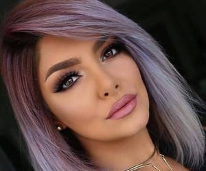 hair cut, love it, and makeup image