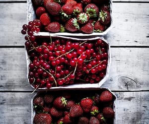 strawberry, cherry, and delicious image