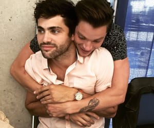 shadowhunters, matthew daddario, and dominic sherwood image