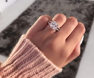 ring, style, and diamond image