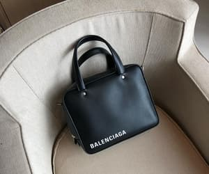 bag, Balenciaga, and black image