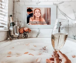 bath, blogger, and bubbly image