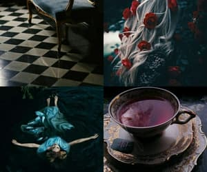 wallpaper, aesthetic, and alice in wonderland image