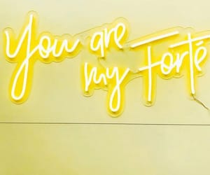 yellow, love, and fuerza image