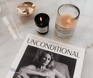 candles, fashion, and magazine image
