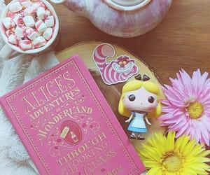 alice in wonderland, disney, and pink image
