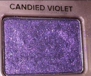 purple, violet, and makeup image