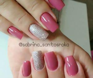 glitter, nail polish, and nailart image