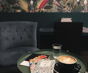 cafe, coffee, and interior image