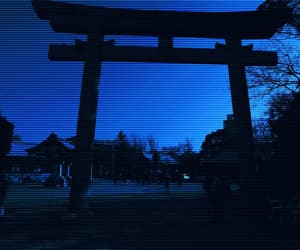 aesthetic, blue, and japan image