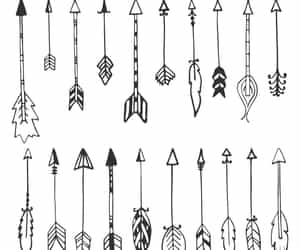 arrows and drawing image