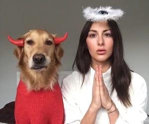 divertido, demonio, and ángel image