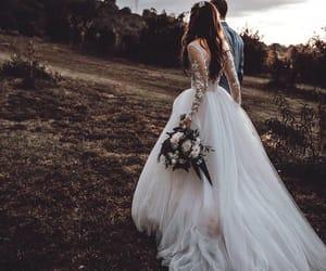 wedding, couple, and photography image