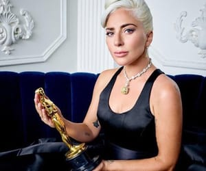 Lady gaga, oscar, and shallow image