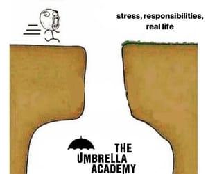 meme, memes, and the umbrella academy image