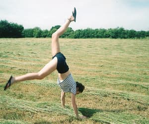 girl, photography, and field image