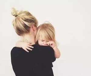 love, baby, and blonde image