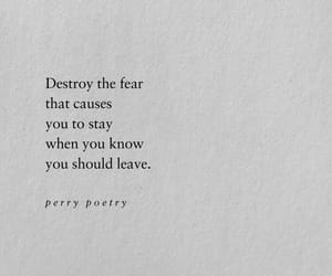 fear, quotes, and book image