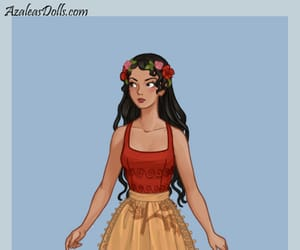 disney princess, moana, and french folklore image