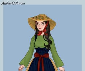 disney princess, mulan, and french folklore image