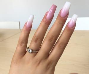 beautiful, hand, and nails image