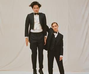boy, girl, and five feet apart image