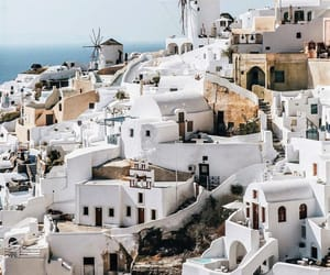 architecture, Greece, and oia image