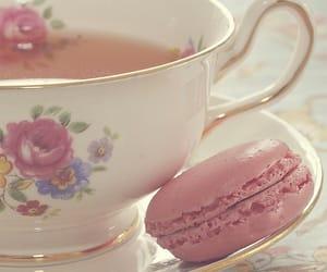 tea, pink, and vintage image