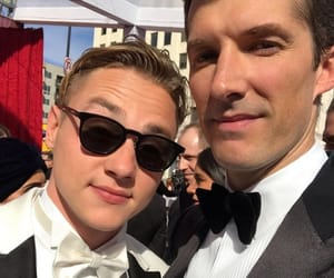 gwilym lee, ben hardy, and oscars image