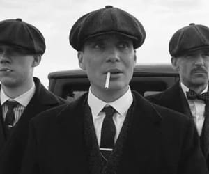 black and white and peaky blinders image