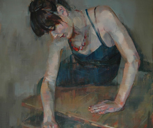 drawer, girl, and paiting image