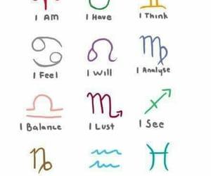 horoscope, zodiac, and astrology image