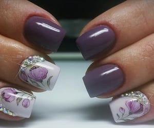 nail art, nails, and love image
