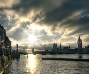 city, london, and photography image