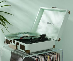 green, music, and aesthetic image