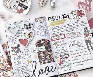 february, journaling, and planner image
