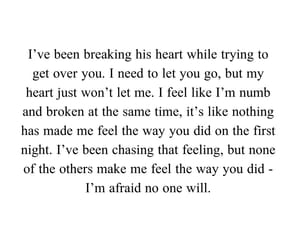 broken, feelings, and heartbreak image